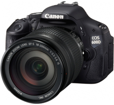 Canon SLR EOS 600D 18 MP - Cameras, megapixels - 18 Megapixels, built in flash - Yes, lcd screen size - 3 inch