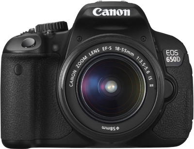 Canon SLR EOS 650D 18 MP - Cameras, megapixels - 18 Megapixels, built in flash - Yes, lcd screen size - 3 inch