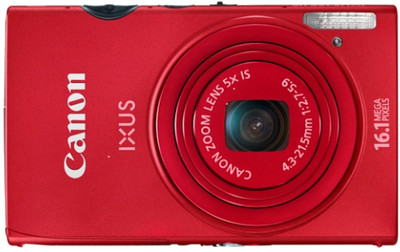 Canon Point  Shoot 125 HS 16 1 MP - Cameras, megapixels - 16.1 Megapixels, built in flash - Yes, lcd screen size - 3 inch