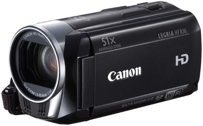 Canon Camcorder Legria HF R36 2 07 MP - Cameras, megapixels - 2.07 Megapixels, built in flash - Yes, lcd screen size - 3 inch