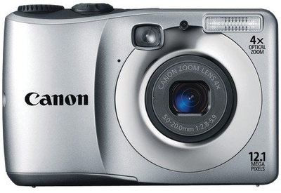 Canon Point  Shoot A 1200 12 1 MP - Cameras, megapixels - 12.1 Megapixels, built in flash - Yes, lcd screen size - 2.7 inch