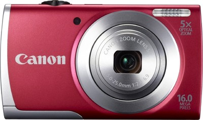 Canon Point  Shoot A2500 16 MP - Cameras, megapixels - 16 Megapixels, built in flash - Yes, lcd screen size - 2.7 inch