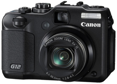Canon Point  Shoot G12 10 MP - Cameras, megapixels - 10 Megapixels, built in flash - Yes, lcd screen size - 2.8 inch