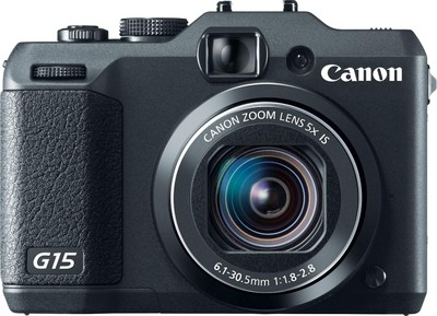 Canon Point  Shoot G15 12 1 MP - Cameras, megapixels - 12.1 Megapixels, built in flash - Yes, lcd screen size - 3 inch