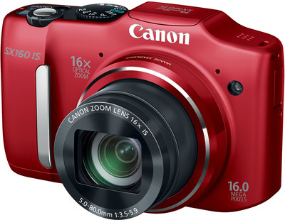 Canon Point  Shoot SX160 IS 16 MP - Cameras, megapixels - 16 Megapixels, built in flash - Yes, lcd screen size - 3 inch