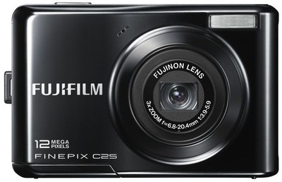 Fujifilm Point  Shoot FinePix C25 12 MP - Cameras, megapixels - 12 Megapixels, built in flash - Yes, lcd screen size - 2.4 inch