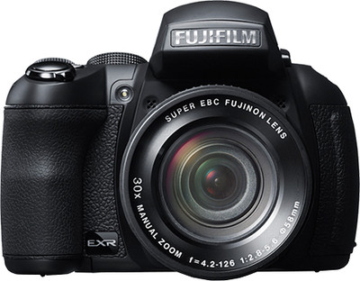 Fujifilm Point  Shoot FinePix HS30EXR 16 MP - Cameras, megapixels - 16 Megapixels, built in flash - Yes, lcd screen size - 3 inch