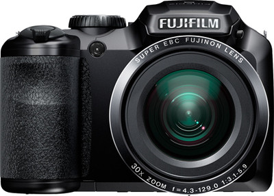 Fujifilm Advance Point and shoot S4800 16 MP - Cameras, megapixels - 16 Megapixels, built in flash - Yes, lcd screen size - 3 inch