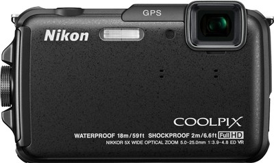 Nikon Point  Shoot Coolpix AW110 16 MP - Cameras, megapixels - 16 Megapixels, built in flash - Yes, lcd screen size - 3 inch