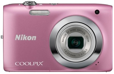 Nikon Point  Shoot Coolpix S2600 14 MP - Cameras, megapixels - 14 Megapixels, built in flash - Yes, lcd screen size - 2.7 inch