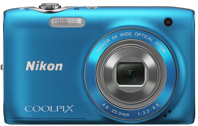 Nikon Point  Shoot Coolpix S3100 14 MP - Cameras, megapixels - 14 Megapixels, built in flash - Yes, lcd screen size - 2.7 inch