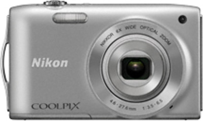Nikon Point  Shoot Coolpix S3200 16 MP - Cameras, megapixels - 16 Megapixels, built in flash - Yes, lcd screen size - 2.7 inch