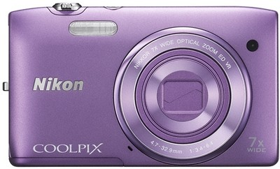 Nikon Point  Shoot Coolpix S3500 20 1 MP - Cameras, megapixels - 20.1 Megapixels, built in flash - Yes, lcd screen size - 2.7 inch