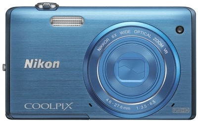 Nikon Point  Shoot Coolpix S5200 16 0 MP - Cameras, megapixels - 16.0 Megapixels, built in flash - Yes, lcd screen size - 3 inch