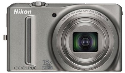 Nikon Point  Shoot Coolpix S9100 12 1 MP - Cameras, megapixels - 12.1 Megapixels, built in flash - Yes, lcd screen size - 3 inch