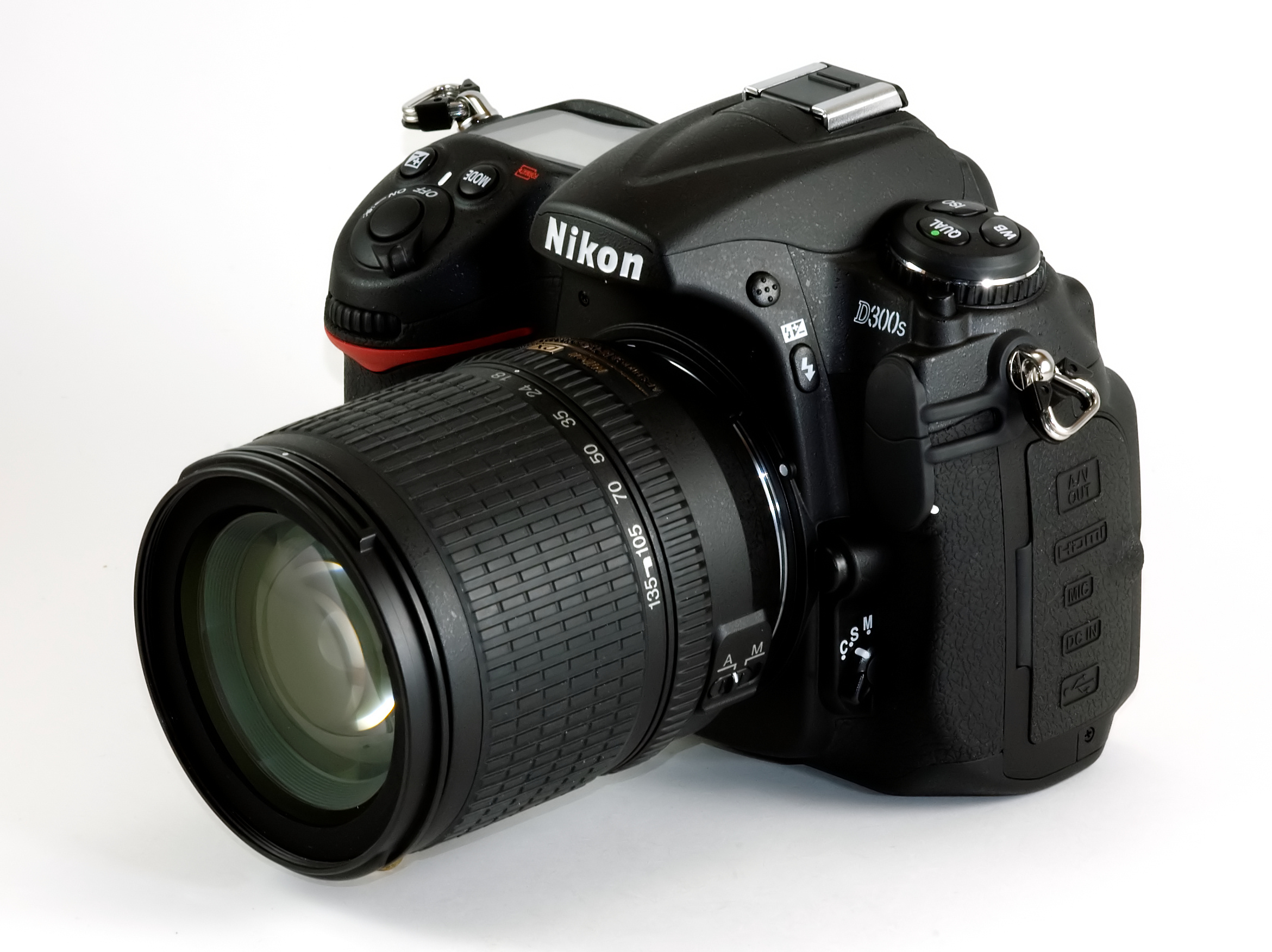 Nikon SLR D300s 12 3 MP - Cameras, megapixels - 12.3 Megapixels, built in flash - Yes, lcd screen size - 3 inch