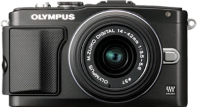 Olympus Mirrorless E PL5 16 5 MP - Cameras, megapixels - 16.5 Megapixels, built in flash - , lcd screen size - 3 inch
