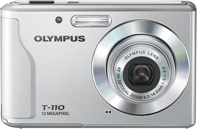 Olympus Point  Shoot T 110 12 MP - Cameras, megapixels - 12 Megapixels, built in flash - , lcd screen size - 2.7 inch