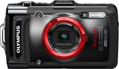 Olympus Advance Point and shoot Stylus TG 2 12 MP - Cameras, megapixels - 12 Megapixels, built in flash - Yes, lcd screen size - 3 inch