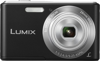 Panasonic Point  Shoot Lumix DMC F5 14 1 MP - Cameras, megapixels - 14.1 Megapixels, built in flash - Yes, lcd screen size - 2.7 inch