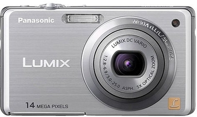 Panasonic Point  Shoot Lumix DMC FH3 14 1 MP - Cameras, megapixels - 14.1 Megapixels, built in flash - Yes, lcd screen size - 2.7 inch