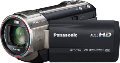 Panasonic Camcorder HC V720 17 52 MP - Cameras, megapixels - 17.52 Megapixels, built in flash - Yes, lcd screen size - 3 inch