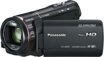Panasonic Camcorder HC X920 20 4 MP - Cameras, megapixels - 20.4 Megapixels, built in flash - Yes, lcd screen size - 3.5 inch