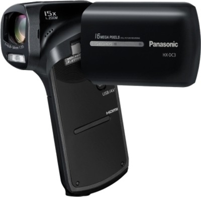 Panasonic Camcorder HX DC3 14 3 MP - Cameras, megapixels - 14.3 Megapixels, built in flash - Yes, lcd screen size - 3 inch