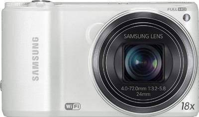 Samsung Point  Shoot Smart WB250F - Cameras, megapixels - , built in flash - Yes, lcd screen size - 3 inch