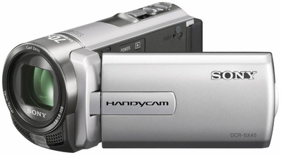 Sony Camcorder DCR SX45E - Cameras, megapixels - , built in flash - , lcd screen size - 3 inch