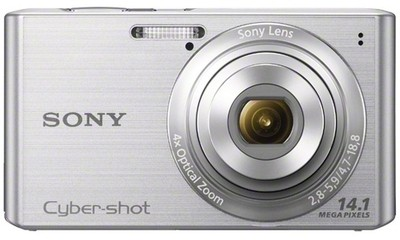 Sony Point  Shoot Cybershot DSC W610 14 1 MP - Cameras, megapixels - 14.1 Megapixels, built in flash - Yes, lcd screen size - 2.7 inch