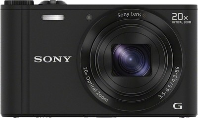 Sony Point  Shoot CyberShot DSC WX300 18 2 MP - Cameras, megapixels - 18.2 Megapixels, built in flash - Yes, lcd screen size - 3 inch
