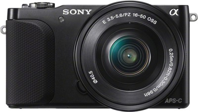 Sony Mirrorless NEX 3NL 16 1 MP - Cameras, megapixels - 16.1 Megapixels, built in flash - Yes, lcd screen size - 3 inch