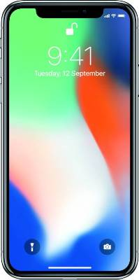 Apple iPhone X - Mobiles, ram - 3 GB, internal memory - 64/256 GB, primary camera - 12MP + 12MP, seconday camera - 7MP, 3G - Yes, screen - 5.8 inch, battery - Non-removable Li-Ion 2716 mAh, os - iOS 11