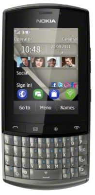 Nokia Asha 303 - Mobiles, ram - 128 MB, internal memory - 100 MB, primary camera - Yes, 3.2 Megapixel, seconday camera - No, 3G - Yes, 10.2 Mbps HSDPA; 2 Mbps HSUPA, screen - 2.6 Inches LCD, battery - Li-Ion, 1300 mAh, os - Symbian (Series 40)