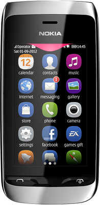 Nokia Asha 309 - Mobiles, ram - 64 MB, internal memory - 20 MB, primary camera - Yes, 2 Megapixel, seconday camera - , 3G - No, screen - 3 Inches TFT LCD, battery - Li-Ion, 1110 mAh, os - Symbian (Series 40)