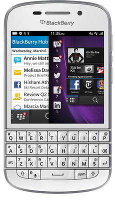 Blackberry Q10 - Mobiles, ram - 2 GB, internal memory - 16 GB, primary camera - Yes, 8 Megapixel, seconday camera - Yes, 2 Megapixel, 3G - Yes, 42 Mbps HSPA+, screen - 3.1 Inches Super AMOLED, battery - 2100 mAh, os - BlackBerry 10