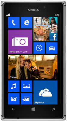 Nokia Lumia 925 - Mobiles, ram - 1 GB RAM, internal memory - 16 GB, primary camera - Yes, 8.7 Megapixel, seconday camera - Yes, 1.3 Megapixel, 3G - Yes, 42.2 Mbps HSDPA; 5.76 Mbps HSUPA, screen - 4.5 Inches Amoled, battery - 2000 mAh, os - Windows Phone 8