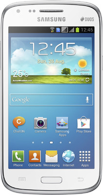 Samsung Galaxy Core I8262 - Mobiles, ram - 1 GB, internal memory - 8 GB, primary camera - Yes, 5 Megapixel, seconday camera - Yes, 0.3 Megapixel, 3G - Yes, 5.76 Mbps HSUPA, screen - 4.3 Inches TFT LCD, battery - Li-Ion, 1800 mAh, os - Android v4.1 (Jelly Bean)