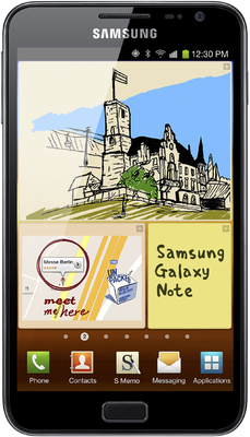 Samsung Galaxy Note N 7000 - Mobiles, ram - 1 GB, internal memory - 16 GB, primary camera - Yes, 8 Megapixel, seconday camera - Yes, 2 Megapixel, 3G - Yes, 21 Mbps HSDPA; 5.76 Mbps HSUPA, screen - 5.29 Inches HD Super AMOLED, battery - Li-Ion, 2500 mAh, os - Android v2.3 (Gingerbread), Upgradable to v4.0 (Ice Cream Sandwich)