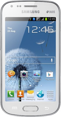 Samsung Galaxy S Duos S7562 - Mobiles, ram - 768 MB, internal memory - 4 GB, primary camera - Yes, 5 Megapixel, seconday camera - Yes, 0.3 Megapixel, 3G - Yes, 7.2 Mbps HSDPA; 5.76 Mbps HSUPA, screen - 4 Inches TFT, battery - Li-Ion, 1500 mAh, os - Android v4 (Ice Cream Sandwich)