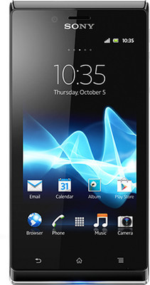 Sony Xperia J - Mobiles, ram - 512 MB, internal memory - 4 GB, primary camera - Yes, 5 Megapixel, seconday camera - Yes, 0.3 Megapixel, 3G - Yes, 7.2 Mbps HSDPA; 5.76 Mbps HSUPA, screen - 4 Inches TFT, battery - Li-Ion, 1700 mAh, os - Android v4 (Ice Cream Sandwich)