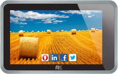 HCL ME Connect 3G 2 0 - Tablets, screen - 7 inch Capacitive Touchscreen with 1024 x 600 pixels ,16 M Colors, ram - 1 GB DDR3, internal memory - 4 GB, primary camera - 3.2 megapixels, wifi - Yes, 802.11 b/g/n, os - Android 4.1.2 (Jelly Bean)